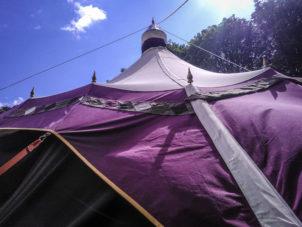 Colourful Festival Marquee_