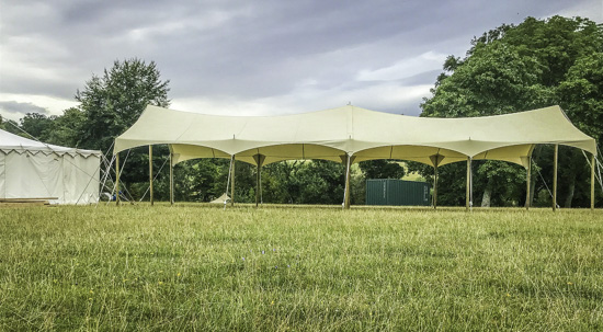 Extra Large Tensile Festival Canopy