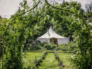Garden Wedding Marquee_