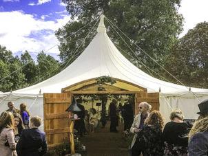 Gorgeous Woodland Wedding Marquee