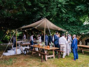Wedding Garden Bar Canopy